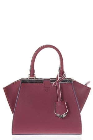 MINI 3JOURS CHERRY LEATHER BAG SS 2018 FENDI | 2 | 8BH3335QTF0N3N