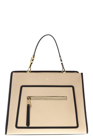 BORSA RUN AWAY BEIGE IN PELLE PE 2018 FENDI | 2 | 8BH343SIZF111M