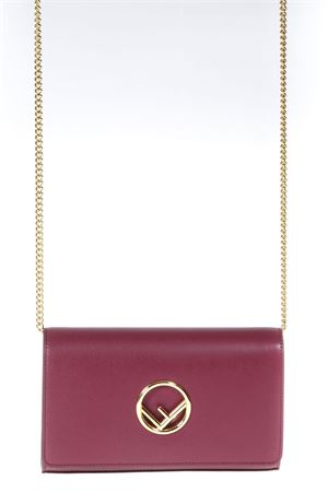 MINI BORSA IN PELLE ROSSA PE 2018 FENDI | 34 | 8BS004A0KKF0J3V