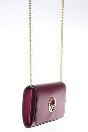 MINI BORSA IN PELLE ROSSA PE 2018 FENDI | 2 | 8BS004A0KKF0J3V
