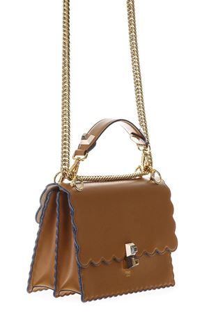KAN I MEDIUM CAMEL LEATHER BAG SS 2018 FENDI | 2 | 8BT283A18QF0NYJ