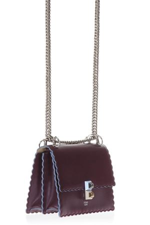 AMARANTH SMALL KAN I LEATHER BAG ss 2018 FENDI | 2 | 8M0381A18QF0HY3