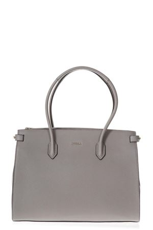 SAND LEATHER DOUBLE INTERNAL POCKET SHOPPING BAG SS 2018 FURLA | 2 | 942217PINSABBIA