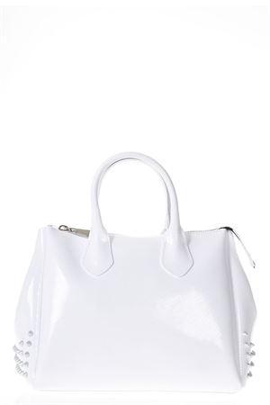 WHITE STUDDED GUM HAND BAG SS 2018 GIANNI CHIARINI | 2 | BS1900TCOLORSTUD9435