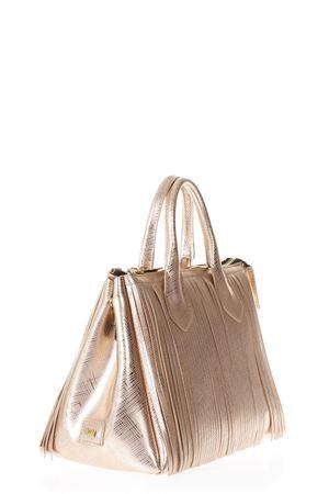 ROSEGOLD FRINGED GUM HAND BAG SS 2018 GIANNI CHIARINI | 2 | BS3700GUM FR8509