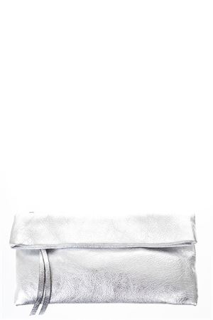 SILVER METALLIC LEATHER CLUTCH SS 2018 GIANNI CHIARINI | 2 | BS5235/18PE LMW10406