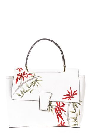 PRINTED WHITE LEATHER TOTE SS 2018 GIANNI CHIARINI | 2 | BS6312RMN/RE13890