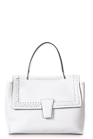WHITE LEATHER TOTE BAG SS 2018 GIANNI CHIARINI | 2 | BS6362LOR13890