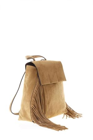 DESERT SUEDE FRINGED BACKPACK SS 2018 GIANNI CHIARINI | 2 | ZN5794/18PE1206