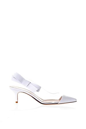MIA WHITE PUMPS IN LEATHER SS 2018 J GIANVITO ROSSI | 68 | G92670NPXBITRWHITE