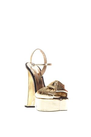 BARBRA METALLIC LEATHER SANDALS SS 2018 GIUSEPPE ZANOTTI | 87 | E800063KAORI002