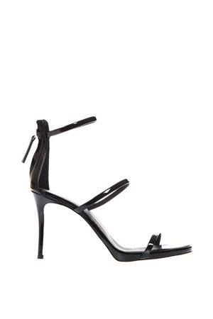 HARMONY BLACK PATENT LEATHER SANDALS SS 2018 GIUSEPPE ZANOTTI | 87 | I700050VERNICE011