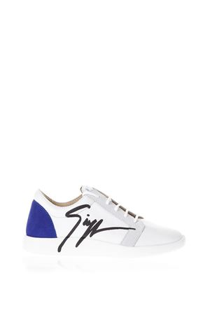 WHITE CATWALK SNEAKERS IN LEATHER SS 2018 GIUSEPPE ZANOTTI | 55 | RS80078CATWALK003