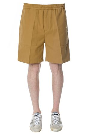 MUSTARD DRAWSTRING SHORTS IN COTTON SS 2018 GOLDEN GOOSE DELUXE BRAND | 110000034 | G32MP5131A2