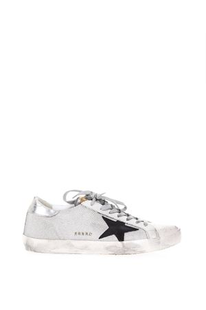 SNEAKERS SUPERSTAR CON PANNELLI IN RETE PE 2018 GOLDEN GOOSE DELUXE BRAND | 55 | G32MS5901C39