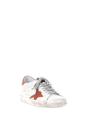 20MM SUPERSTAR WHITE & RED LEATHER SNEAKERS SS 2018 GOLDEN GOOSE DELUXE BRAND | 55 | G32MS5901D90