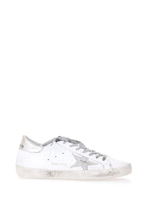 WHITE LEATHER SUPERSTAR SNEAKERS SS18 GOLDEN GOOSE DELUXE BRAND | 55 | G32MS5901D98