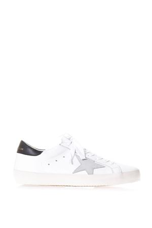 WHITE & BLACK LEATHER SUPERSTAR SNEAKERS ss 2018 GOLDEN GOOSE DELUXE BRAND | 55 | G32MS5901E73