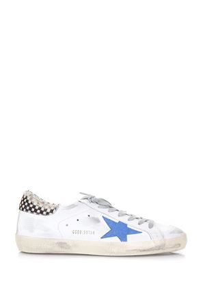 WHITE AND BLUE SUPERSTAR SNEAKERS SS18 GOLDEN GOOSE DELUXE BRAND | 55 | G32MS5901E97