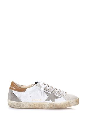 WHITE LEATHER SUPERSTAR SNEAKERS SS18 GOLDEN GOOSE DELUXE BRAND | 55 | G32MS5901E98