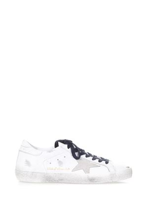 SUPERSTAR WHITE LEATHER SNEAKERS SS 2018 GOLDEN GOOSE DELUXE BRAND | 55 | G32MS5901TEX