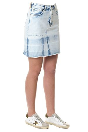 COTTON DENIM STONEWASH EFFECT SKIRT SS 2018 GOLDEN GOOSE DELUXE BRAND | 26 | G32WP0581A4