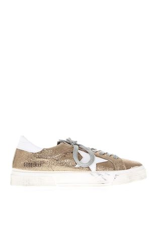 SUPERSTAR GOLD LEATHER SNEAKERS SS 2018 GOLDEN GOOSE DELUXE BRAND | 55 | G32WS1271H3