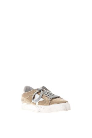 SNEAKERS SUPERSTAR IN PELLE ORO PE 2018 GOLDEN GOOSE DELUXE BRAND | 55 | G32WS1271H3