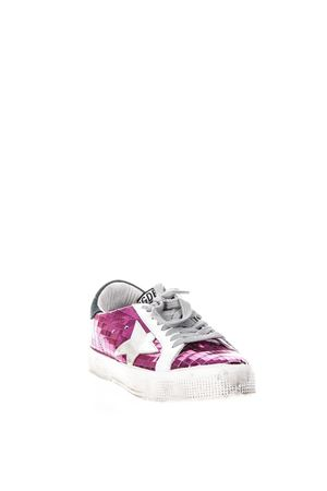 MAY FUCHSIA LEATHER SNEAKERS SS 2018 GOLDEN GOOSE DELUXE BRAND | 55 | G32WS1271H4