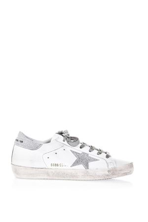 SNEAKERS SUPER STAR IN PELLE 20MM PE 2018 GOLDEN GOOSE DELUXE BRAND | 55 | G32WS5901E51