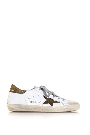 20MM SUPER STAR LEATHER SNEAKERS SS 2018 GOLDEN GOOSE DELUXE BRAND | 55 | G32WS5901E52