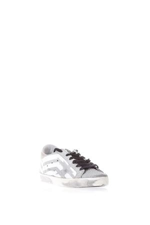 SNEAKERS SUPERSTAR WHITE FLAG GRIGIO E BIANCO PE 2018 GOLDEN GOOSE DELUXE BRAND | 55 | G32WS5901G35