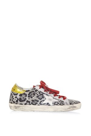 BLACK LEOPARD FABRIC SNEAKERS SS 2018 GOLDEN GOOSE DELUXE BRAND | 55 | G32WS5901G48