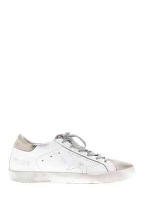 SNEAKERS SUPERSTAR IN PELLE E CAMOSCIO BIANCO 20MM PE 2018 GOLDEN GOOSE DELUXE BRAND | 55 | GCOWS5901A5
