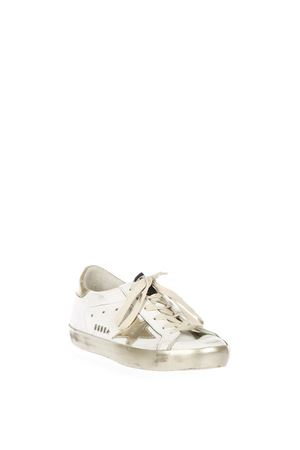 SNEAKERS SUPER STAR IN PELLE 20MM pe 2018 GOLDEN GOOSE DELUXE BRAND | 55 | GCOWS5901E37