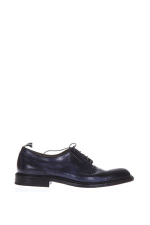 NIGHT BLUE LEATHER DERBY LACE-UP SHOES SS 2018 GREEN GEORGE | 208 | 3029MAREMMA372