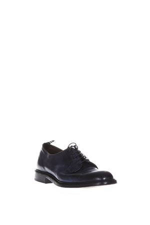 STRINGATE DERBY IN PELLE BLU NOTTE PE 2018 GREEN GEORGE | 208 | 3029MAREMMA372