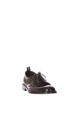 BROWN LEATHER DERBY LACE-UP SHOES SS 2018 GREEN GEORGE | 208 | 3029MAREMMA432