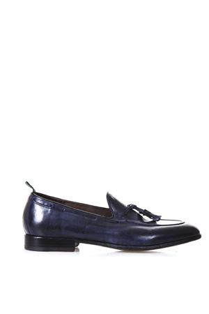 NAVY LEATHER LOAFERS WITH TASSELS SS 2018 GREEN GEORGE | 130 | 5095MAREMMA372