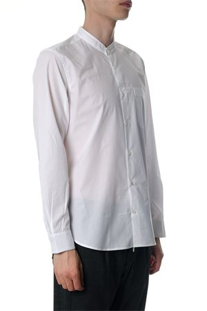 MANDARIN COLLAR WHITE COTTON SHIRT SS 2018 MAURO GRIFONI | 9 | GB120045001