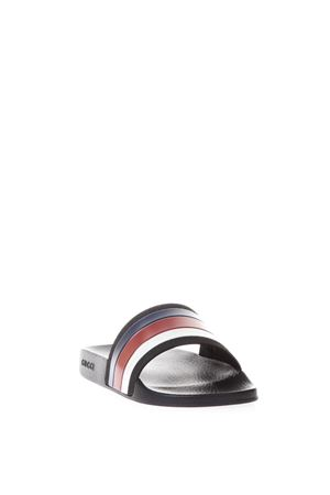 SYLVIE WEB DETAIL RUBBER SANDALS SS18 GUCCI | 87 | 308234GIB101071