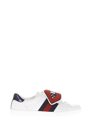 SNEAKERS ACE CON PATCH STACCABILI PE 2018 GUCCI | 55 | 470012D0PH09070