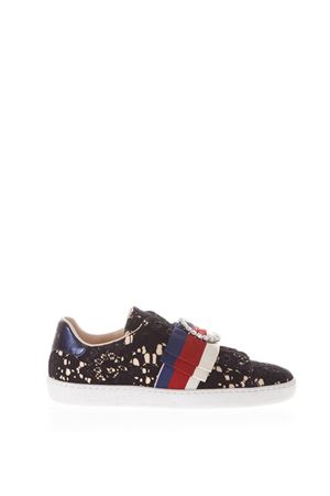 ACE SNEAKERS IN SATIN & LACE SS 2018 GUCCI | 55 | 4987059MW101214