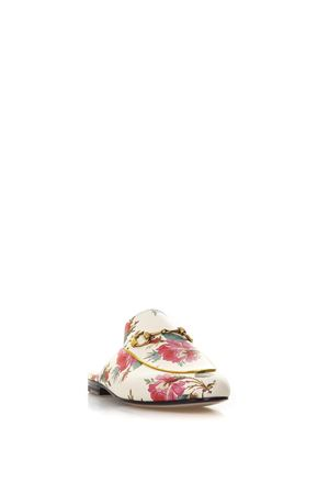 PRINCETOWN ROSES PRINTED SLIPPERS SS 2018 GUCCI | 130 | 5055110JD109290