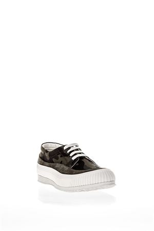 TRADITIONAL CAMOUFLAGE PRINTED CANVAS SNEAKERS SS 2018 HOGAN | 55 | HXM2580AF90ITJ0QC3