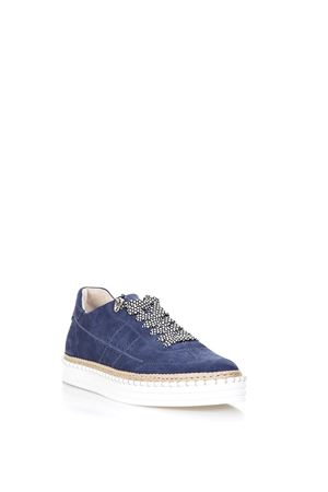 NAVY R260 SNEAKERS IN SUEDE SS 2018 HOGAN | 55 | HXM2600K850I9SU803