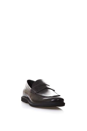 BLACK LEATHER ROUTE LOAFERS SS18 HOGAN | 130 | HXM3120R7328A1B609