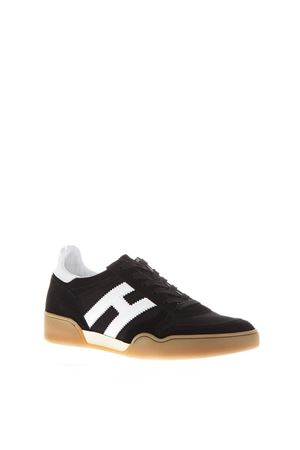 BLACK SNEAKERS IN SUEDE PE 2018 HOGAN | 55 | HXM3570AC40IPJ0002