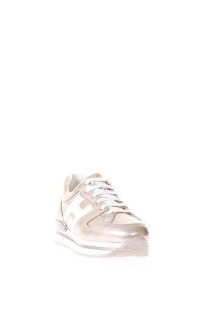 GOLDEN ROSE H222 LEATHER SNEAKERS SS18 HOGAN | 55 | HXW2220T548I8G089A