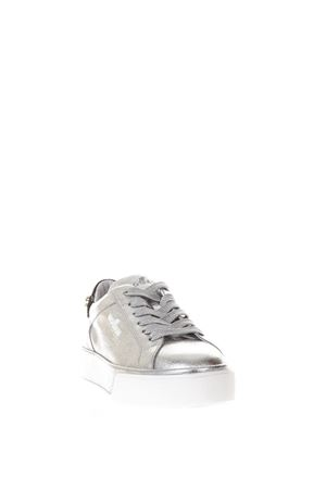 SILVER REBEL 320 SNEAKERS IN LEATHER SS 2018 HOGAN | 55 | HXW3200AH10IVY1920